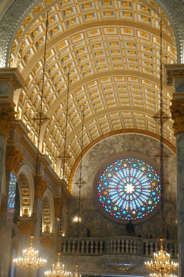 εσωτερικό εκκλησιών στοκ φωτογραφία με δικαίωμα ελεύθερης χρήσης