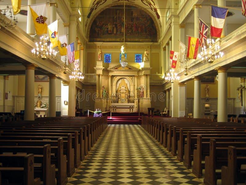 εσωτερικό εκκλησιών στοκ εικόνα