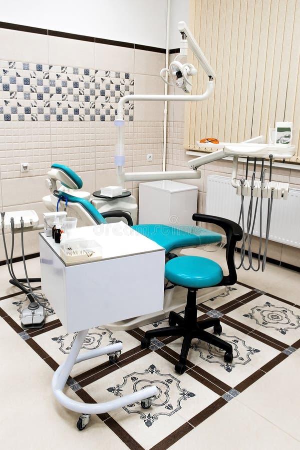 Εσωτερικό ενός νέου σύγχρονου οδοντικού γραφείου στοκ φωτογραφία με δικαίωμα ελεύθερης χρήσης