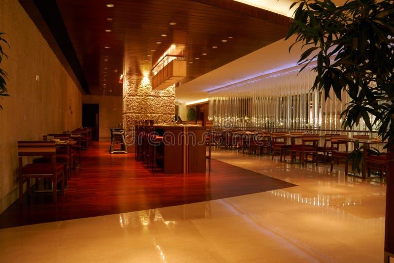 εσωτερικό εστιατόριο στοκ εικόνες
