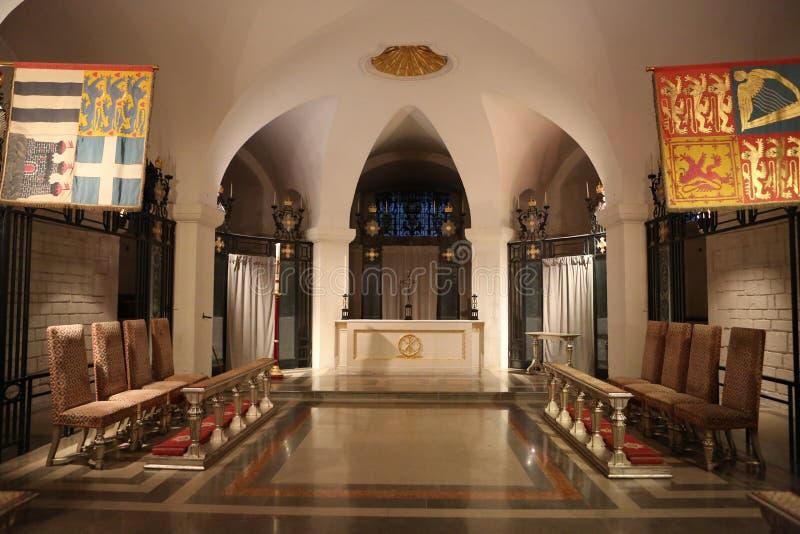 Εσωτερικό καθεδρικών ναών του ST Pauls στοκ εικόνες με δικαίωμα ελεύθερης χρήσης