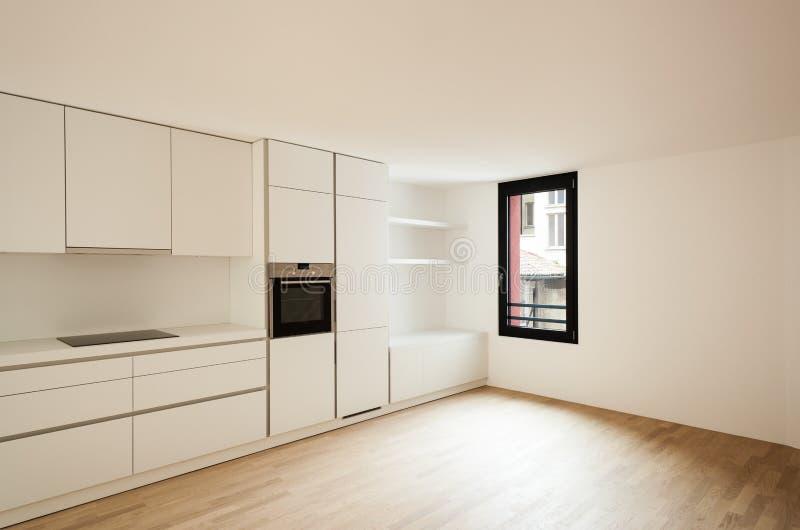 Εσωτερικό καινούργιο σπίτι στοκ φωτογραφία