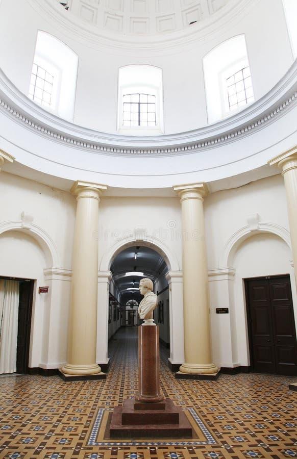Εσωτερικό κεντρικού κτιρίου IIT Roorkee στοκ φωτογραφίες