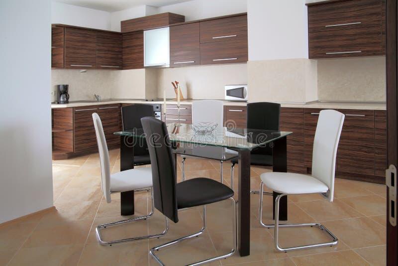 Εσωτερικό κουζινών στοκ φωτογραφία με δικαίωμα ελεύθερης χρήσης