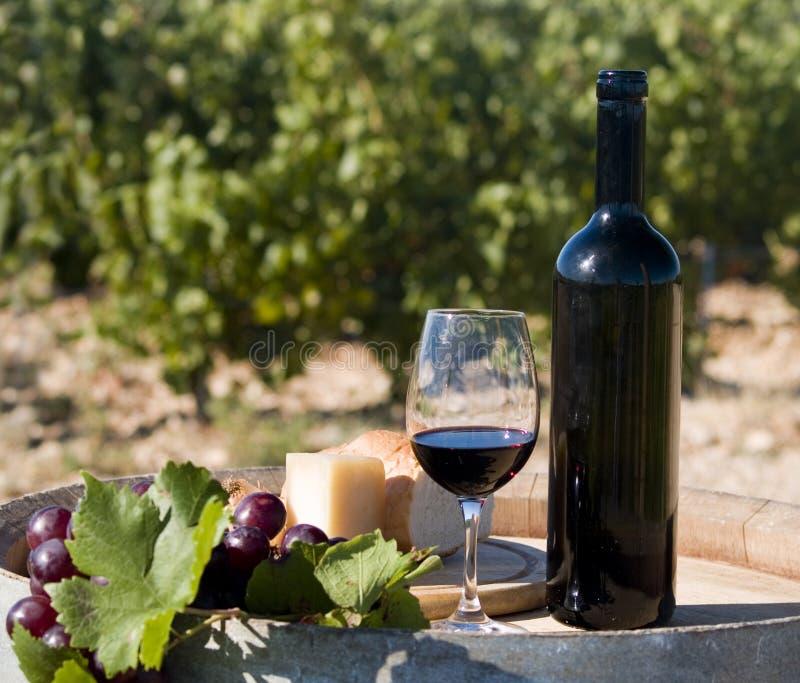 εσωτερικό κρασί στοκ φωτογραφία