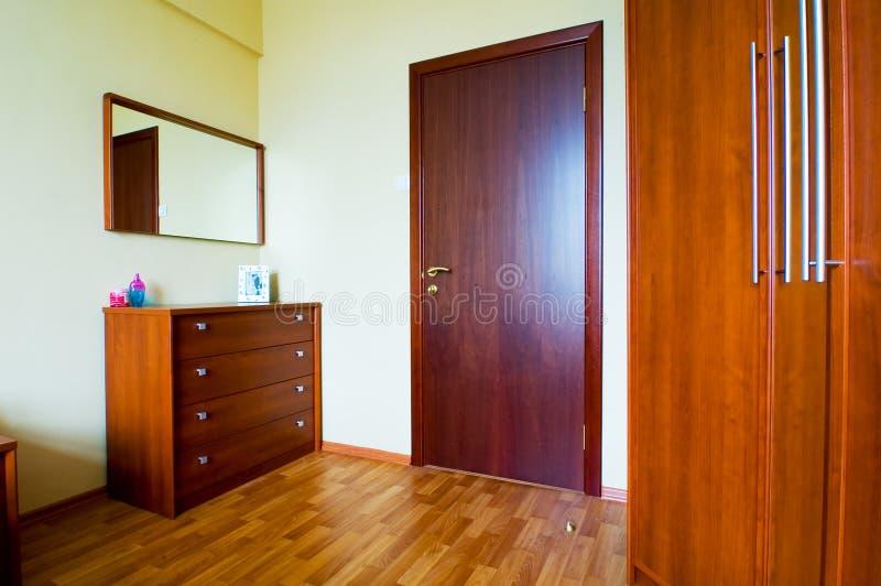 εσωτερικό κρεβατοκάμαρ& στοκ εικόνες
