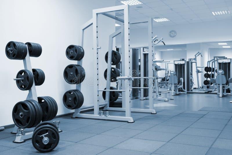 Εσωτερικό μιας σύγχρονης γυμναστικής στοκ φωτογραφίες με δικαίωμα ελεύθερης χρήσης