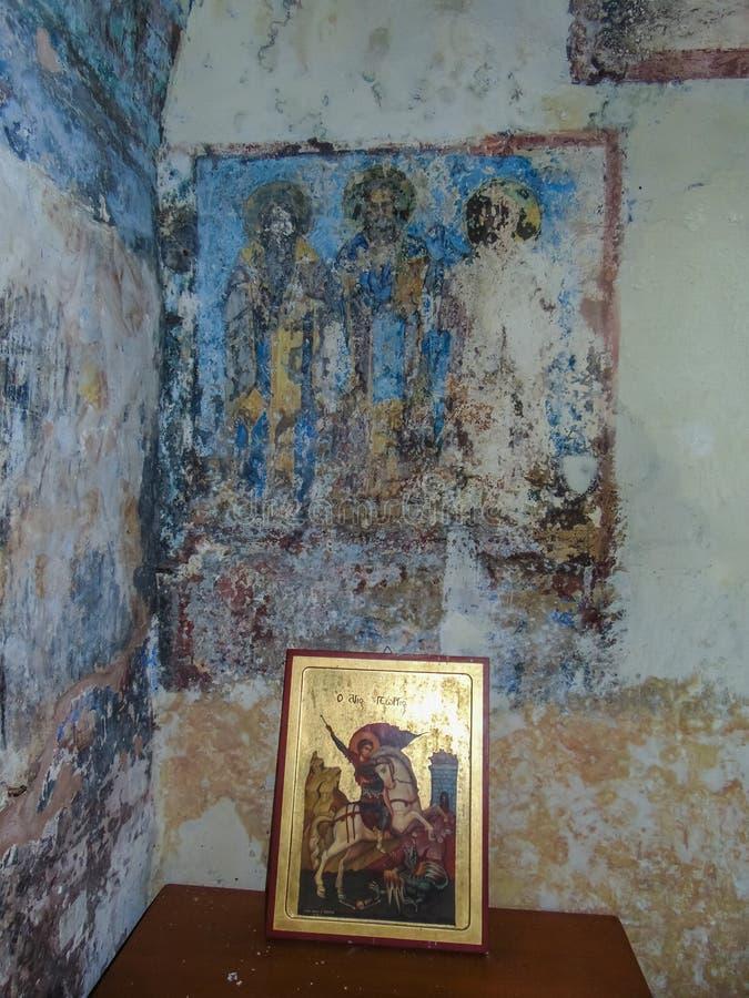 Εσωτερικό μοναστηριών του ST George στοκ φωτογραφία