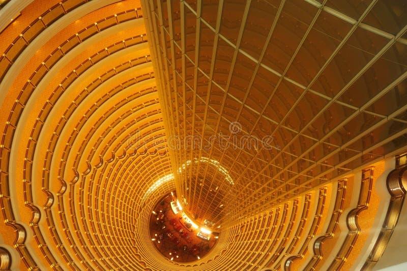 Εσωτερικό πύργων της Σαγγάης Jin Mao στοκ εικόνες