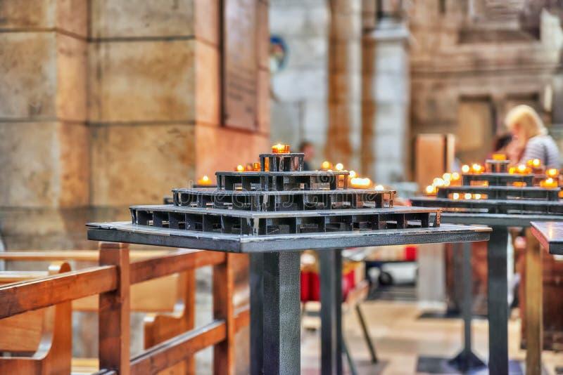 Εσωτερικό Ρωμαίου - καθολική εκκλησία στοκ φωτογραφίες με δικαίωμα ελεύθερης χρήσης