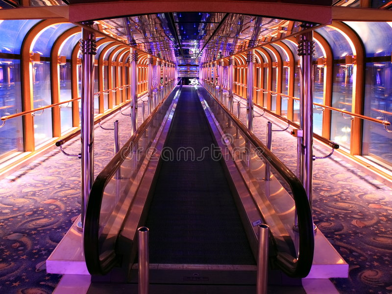 εσωτερικό σκάφος κρου&alph στοκ εικόνα με δικαίωμα ελεύθερης χρήσης