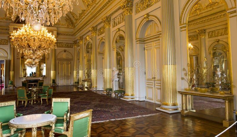 Εσωτερικό της Royal Palace, Βρυξέλλες, Βέλγιο στοκ φωτογραφίες με δικαίωμα ελεύθερης χρήσης