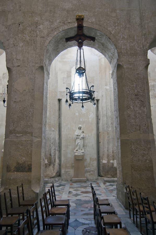 Εσωτερικό του καθεδρικού ναού Siracusa στοκ εικόνα με δικαίωμα ελεύθερης χρήσης