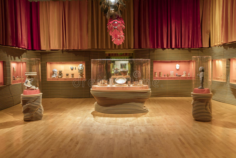Εσωτερικό του Μουσείου Τέχνης της Κομητείας του Λος Άντζελες στοκ φωτογραφία με δικαίωμα ελεύθερης χρήσης