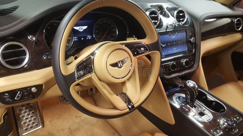 Εσωτερικό φορτηγών Bentley μιας μεγαλοφυίας στοκ φωτογραφία με δικαίωμα ελεύθερης χρήσης