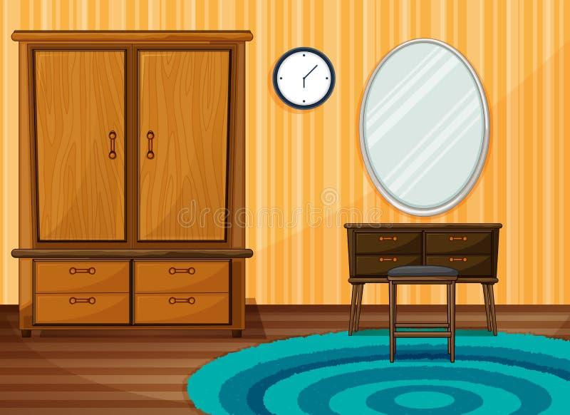 Εσωτερικό δωμάτιο ελεύθερη απεικόνιση δικαιώματος