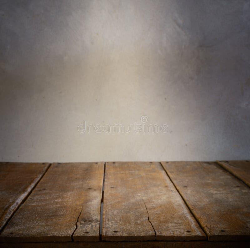 Εσωτερικό δωματίων με το συμπαγή τοίχο στοκ φωτογραφία με δικαίωμα ελεύθερης χρήσης