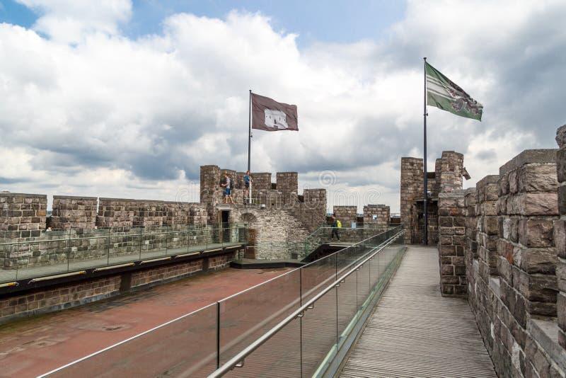 Εσωτερικό Gravensteen Castle σε Gent στοκ εικόνες με δικαίωμα ελεύθερης χρήσης