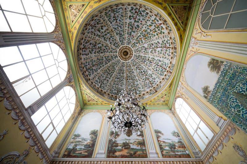 Εσωτερικό Harem παλατιών Topkapi στη Ιστανμπούλ στοκ εικόνα