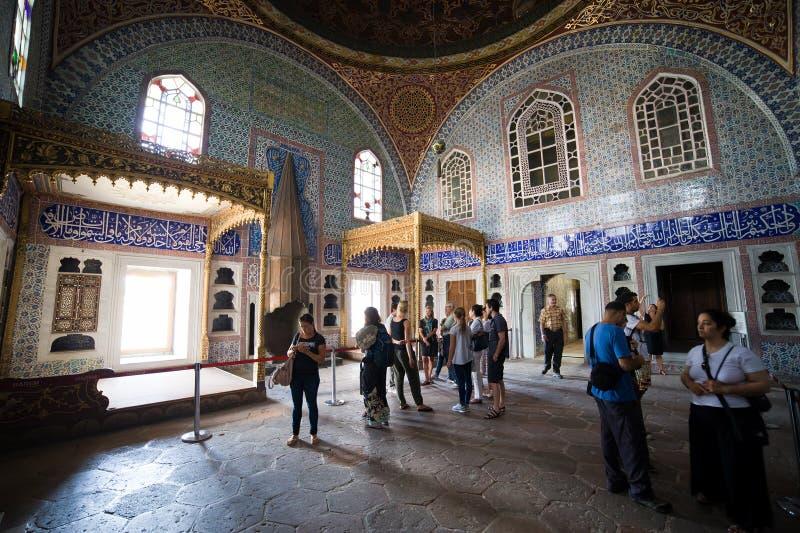Εσωτερικό Harem παλατιών Topkapi στη Ιστανμπούλ στοκ φωτογραφία με δικαίωμα ελεύθερης χρήσης