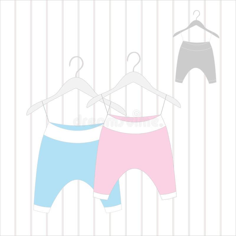 Εσώρουχα για νεογέννητο στοκ εικόνα με δικαίωμα ελεύθερης χρήσης