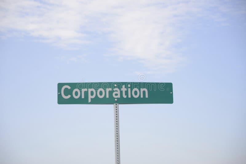 Εταιρία για το κέρδος στοκ εικόνα