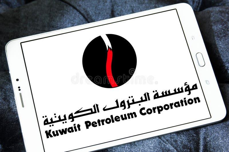 Εταιρία πετρελαίου του Κουβέιτ, λογότυπο KPC στοκ φωτογραφίες με δικαίωμα ελεύθερης χρήσης