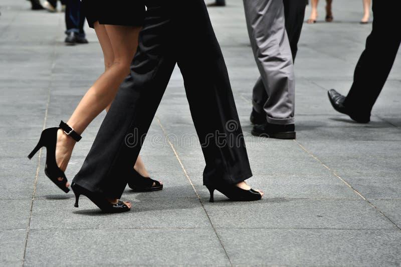 εταιρικά πόδια στοκ φωτογραφία