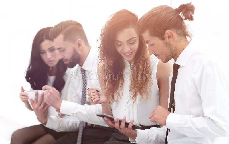 Εταιρικές ψηφιακές συσκευές σύνδεσης στοκ φωτογραφία με δικαίωμα ελεύθερης χρήσης