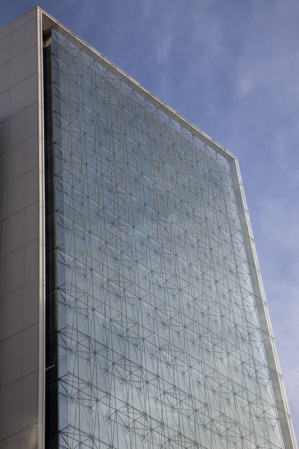 εταιρική έδρα γυαλιού πρ&omic στοκ εικόνα