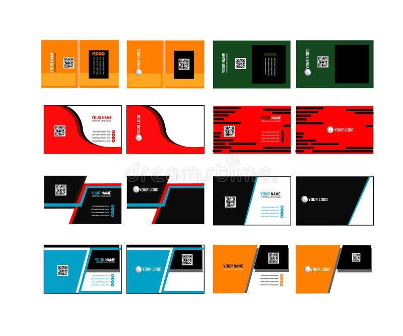Εταιρική επαγγελματική κάρτα 04 ελεύθερη απεικόνιση δικαιώματος