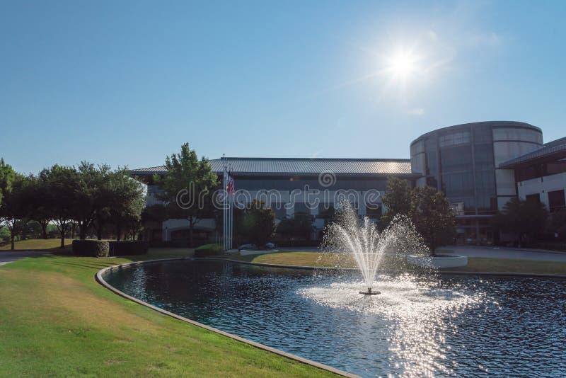 Εταιρική πανεπιστημιούπολη έδρας Keurig ο Δρ Pepper σε Plano, Texa στοκ φωτογραφίες με δικαίωμα ελεύθερης χρήσης