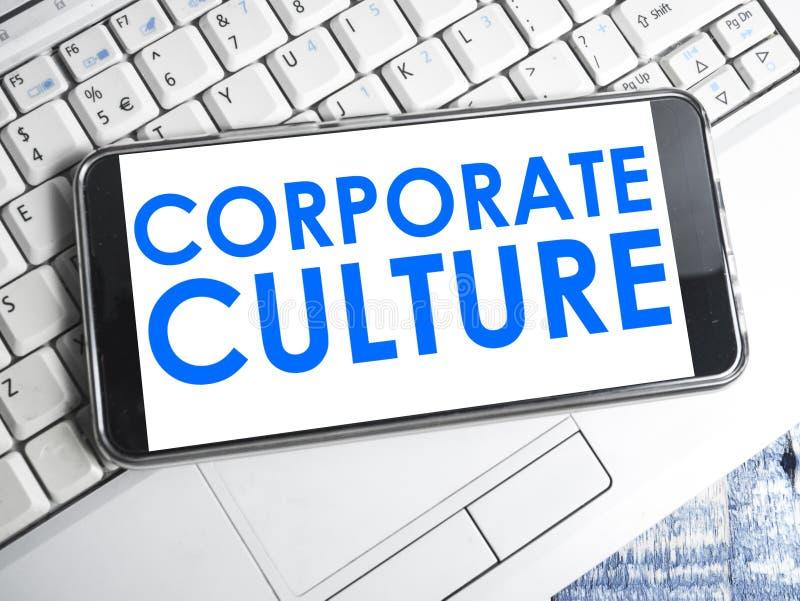 Εταιρικός πολιτισμός, κινητήρια έννοια αποσπασμάτων επιχειρησιακών λέξεων στοκ φωτογραφία με δικαίωμα ελεύθερης χρήσης