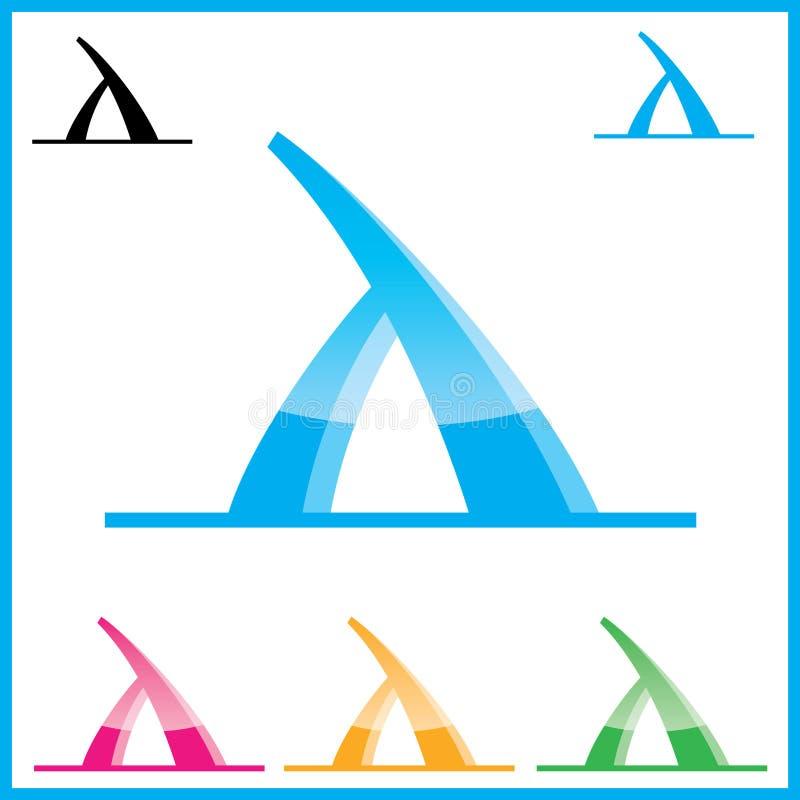εταιρικό διάνυσμα λογότ&upsilo διανυσματική απεικόνιση