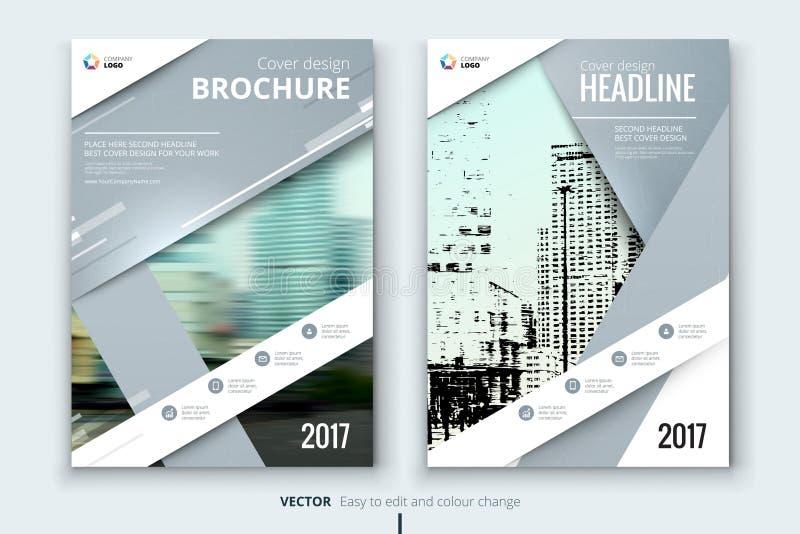 Εταιρικό κάλυψη επιχειρησιακών ετήσια εκθέσεων, φυλλάδιο ή σχέδιο ιπτάμενων απεικόνιση αποθεμάτων