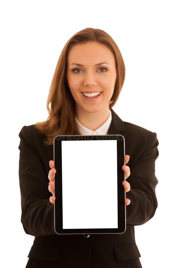 Εταιρικό πορτρέτο της νέας όμορφης καυκάσιας επιχειρησιακής γυναίκας s στοκ φωτογραφίες με δικαίωμα ελεύθερης χρήσης