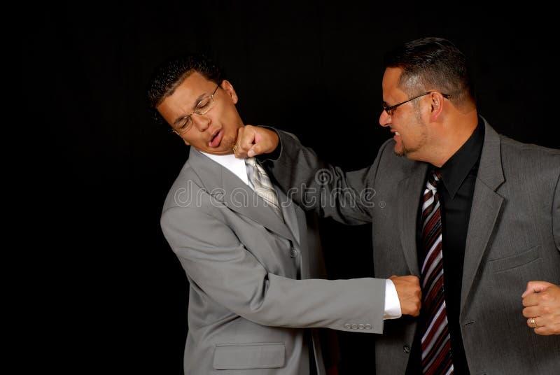 εταιρικό knockout στοκ φωτογραφίες