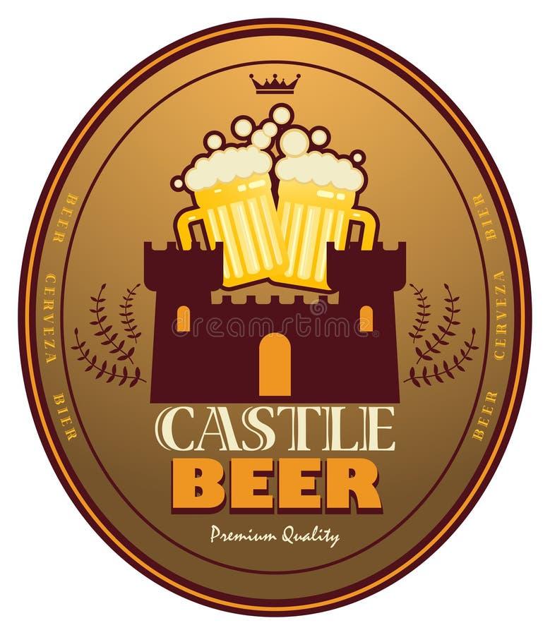 ετικέτα μπύρας απεικόνιση αποθεμάτων