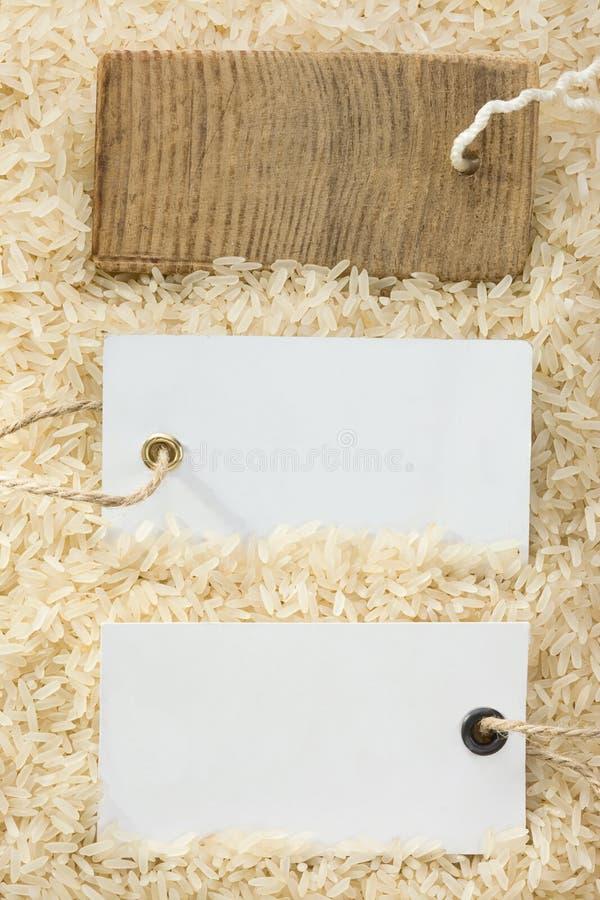 Download ετικέττα ρυζιού τιμών σιταριού Στοκ Εικόνα - εικόνα από κουζίνα, μέρη: 22799811
