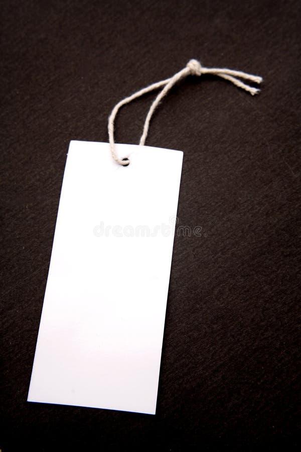 ετικέττα συμβολοσειρά&sig στοκ εικόνα