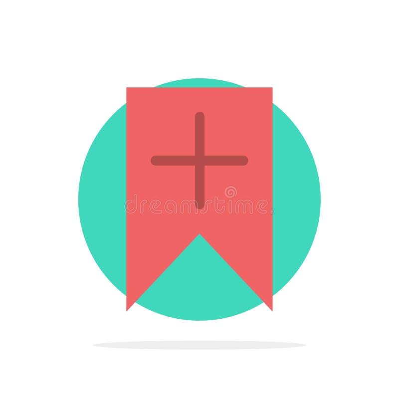 Ετικέττα, συν, διεπαφή, χρηστών αφηρημένο κύκλων εικονίδιο χρώματος υποβάθρου επίπεδο ελεύθερη απεικόνιση δικαιώματος