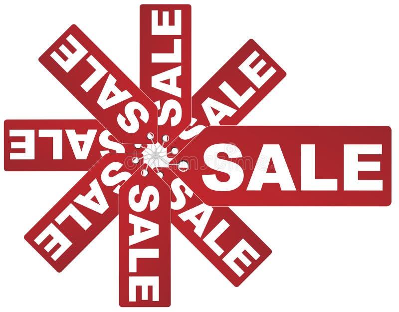ετικέττες πώλησης ελεύθερη απεικόνιση δικαιώματος