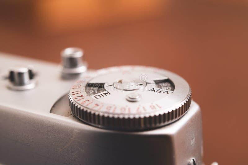 Ευαισθησία ASA ταινιών και επιλογέας δαχτυλιδιών DIN στοκ εικόνες με δικαίωμα ελεύθερης χρήσης
