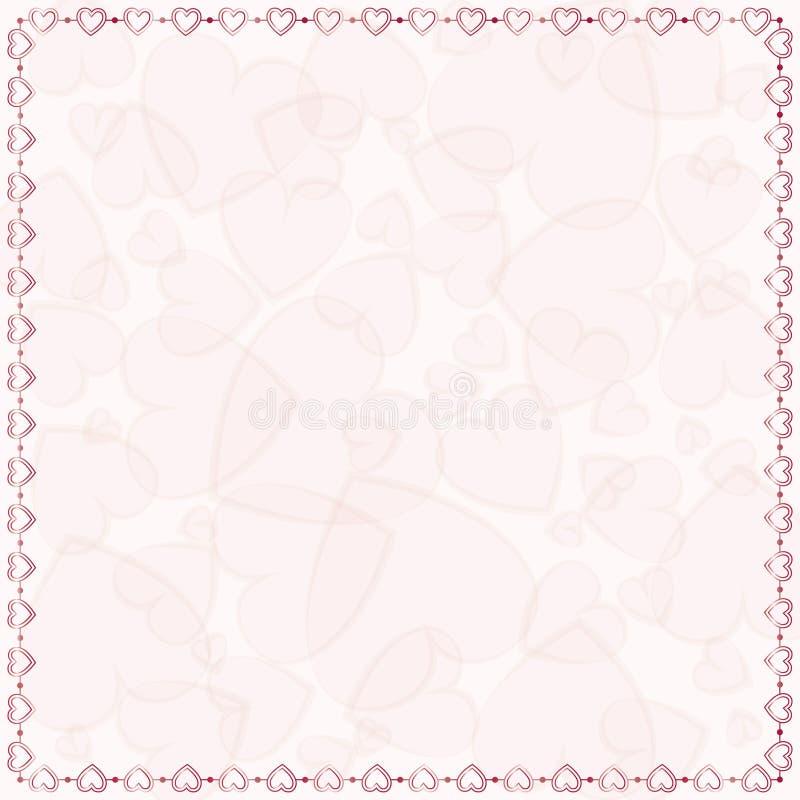 ευγενές ροζ ανασκόπησης απεικόνιση αποθεμάτων