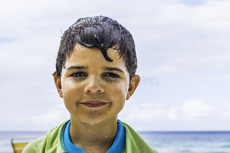 λευκές νεολαίες κολυμβητών απομόνωσης στοκ φωτογραφία με δικαίωμα ελεύθερης χρήσης