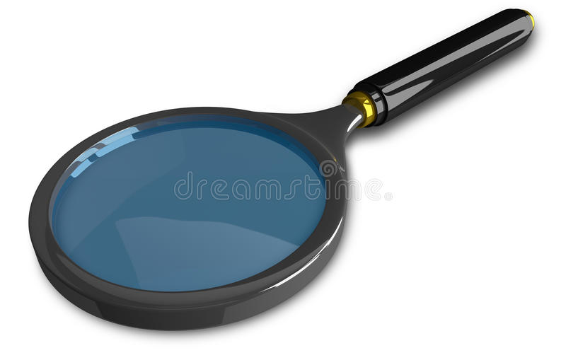 λευκό ενίσχυσης γυαλι&o ελεύθερη απεικόνιση δικαιώματος