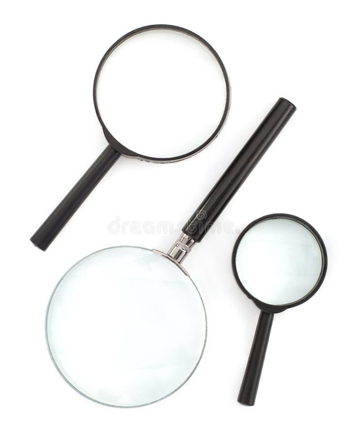 λευκό ενίσχυσης γυαλι&o στοκ εικόνες