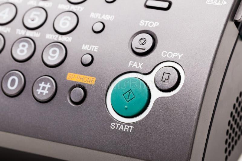 λευκό μηχανών απεικόνισης fax ανασκόπησης στοκ εικόνες