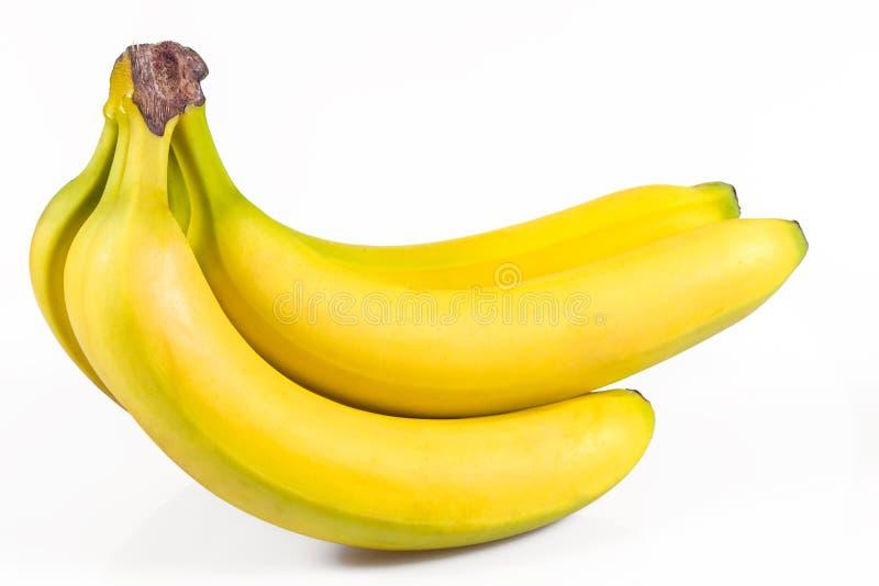 λευκό μπανανών ανασκόπησης στοκ φωτογραφίες