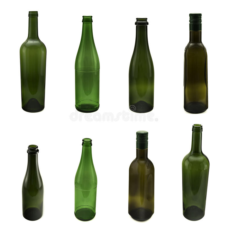 λευκό μπουκαλιών ελεύθερη απεικόνιση δικαιώματος